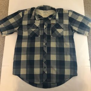 Orvis S/S Button Down Checkered Shirt Large
